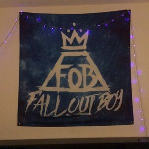 Fall Out Boy Fabric Banner Canvas Flag